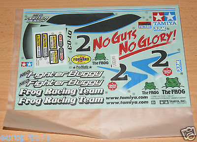 Tamiya 58587 Neo Fighter Buggy/DT03, 9495811/19495811 Decals/Stickers, NIP