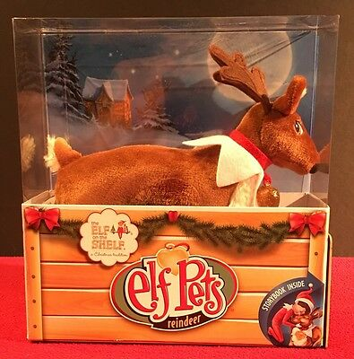 Elf On The Shelf Reindeer And Book  New In Box
