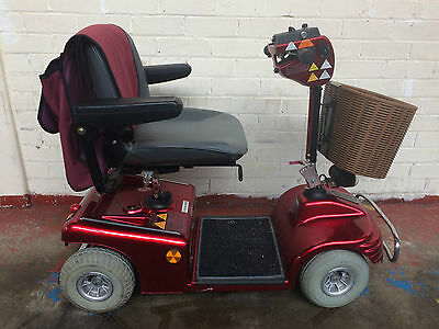 Roma Medical 'sovereign Deluxe' Shoprider Mobility Scooter Metallic Red