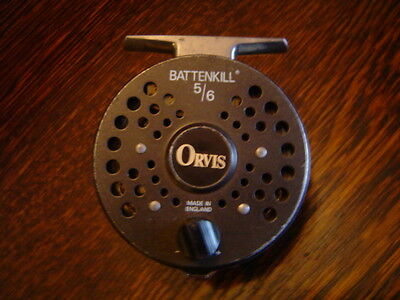 Orvis battenkill 5/6 fly fishing reel