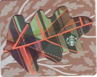 STARBUCKS Card from Germany | Autumn Mini Leaves | 2016 | 1