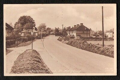St Mary Cray Chelsfield Road Printed Photo Postcard