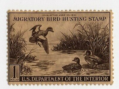 US Federal Duck Stamp  RW 9 MLH
