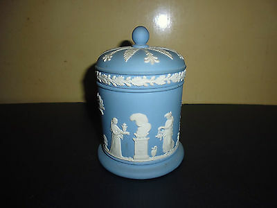 Wedgwood Trinket Pot With Lid Nice Condition