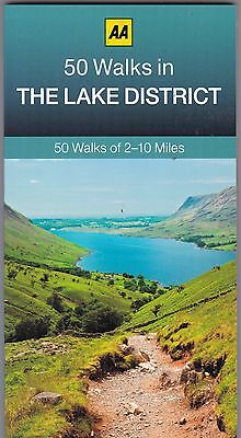 50 Walks in The Lake District by AA Publishing (Paperback) New Book