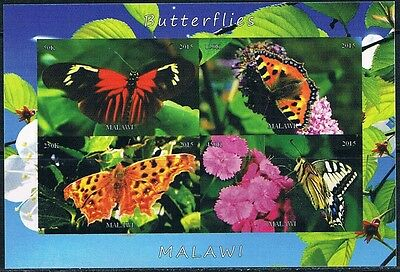Bloc Sheet Papillons Butterflies IMP Neuf  MNH  ** Malawi  2016 Private local