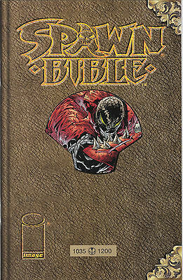 "SPAWN BIBLE ""Book of Souls"" (deutsch)- GOLD-EDITION - INFINITY - Lim. 1200 - TOP"