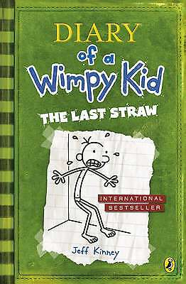 Diary of a Wimpy Kid: The Last Straw (Book 3),Excellent Condition
