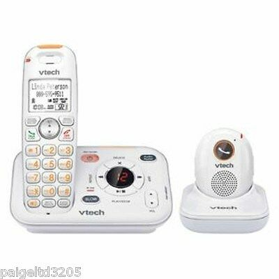Vtech Careline + Home Safety Telephone System w/ Portable Safety Pendant SN6187