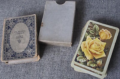 Vintage Linen Finish Playing Cards