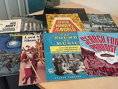 Lot of 1960s Movie Souvenir Brochures + Other Programmes - Search for Paradise +