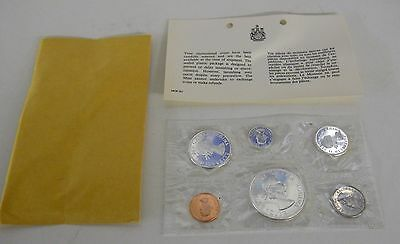 1964 Canada Silver Mint (Proof-Like) Set In Original Envelope With Paperwork