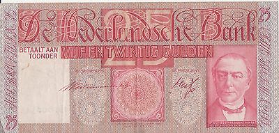 25 Gulden Pays Bas Netherlands May 1934 BB000343