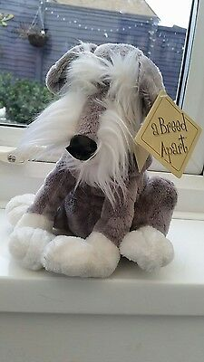 A Breed Apart Country Artists Soft Toy, Marshall - Schnauzer, With Tags