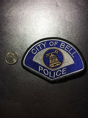 Bell California Police Department Patch Ca