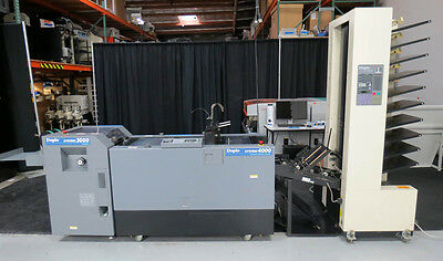 Duplo System 4000 DC-1000S Air-Feed Collator & DBM-400 Booklet Maker – Horizon