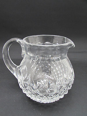 Beautiful Design Lead Crystal Small Water Jug 12.5cm