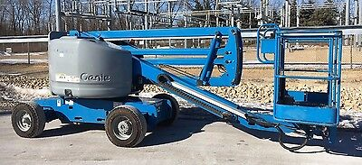 2002 Genie Z45/25 Articulating Aerial Manlift Boom Lift
