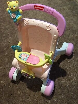 Fisher Price Baby Walker With Music