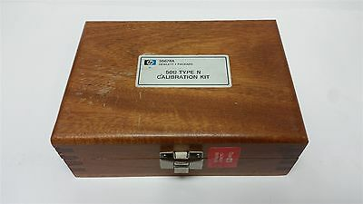 Hp 35678A 50Ω Type N Calibration Kit In Wood Case