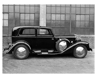 1931 Budd Special ORIGINAL Lined-Backed Photo Printed by Budd Company ouc1753