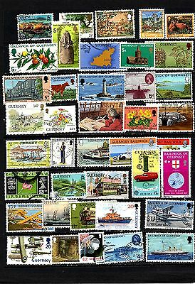 Guernsey 40 All Different Collection  5 includes £2 Flower