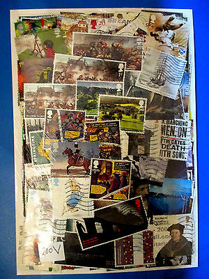 200+ GB Commemoratives (various years to 2016) all different  #200V