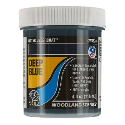 NEW Woodland Scenics Water Undercoat - Deep Blue CW4530