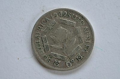 South Africa  - George Vl - 6d - 1942  - .800 silver