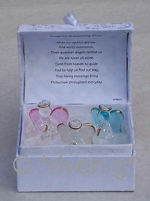 GUARDIAN Angel@BLESSING Gift Box@Glass@Card Verse@GLASS Gift Box@22kt@PINK@BLUE