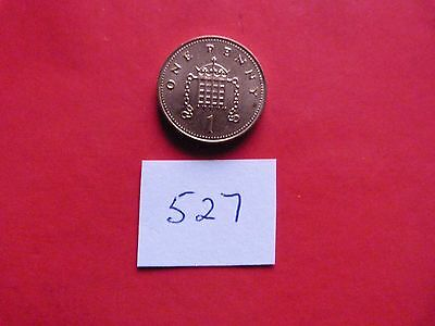 A circulated 2007 ONE PENNY