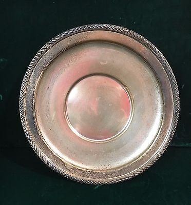 PS Co. Sterling Silver 9.75'' Plate 202 grams