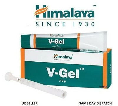 Himalaya Herbal V-Gel Vaginal  Cervix Relieves Iching Discharge Soothes Heal 30g