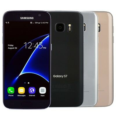 Samsung Galaxy S7 Smartphone AT&T Sprint T-Mobile Verizon or Unlocked
