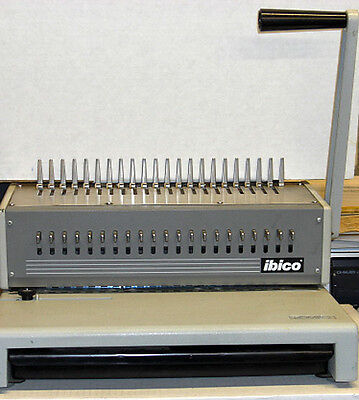 IBICO Punch & Comb Binding Machine  / with several assorted Combs