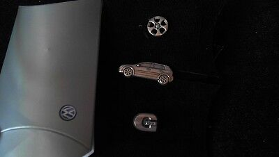 VW Volkswagen Collector Edition GTI Golf 3 Pin Badge Felge Logo Auto Edelstahl i