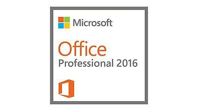 Microsoft Office Professional 2016 for 1PC Product License USB