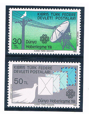 CYPRUS (NORTHERN) 1983 World Communications Year