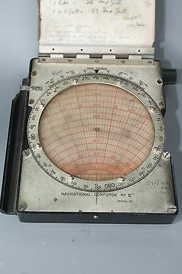 Vintage Navigational Calculator in Good Condition with Chip on Side
