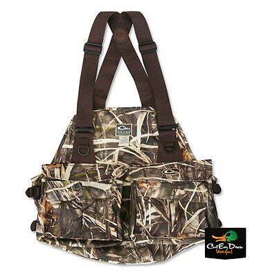 Drake Waterfowl Systems 900D Strap Vest Upland Dove Max-4 Camo