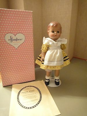 Effanbee doll Patsy Joan 1994  yellow dress (alice in wonderland ) 16""