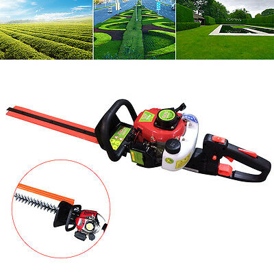 Petrol Powered Hedge Trimmer Garden Chainsaw 0,9 KW 2-Stroke Air-Cooled +22.5 cc