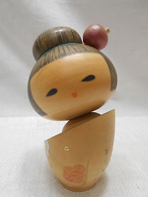 Kokeshi Creative Style Wooden Japanese Doll Vintage  #435