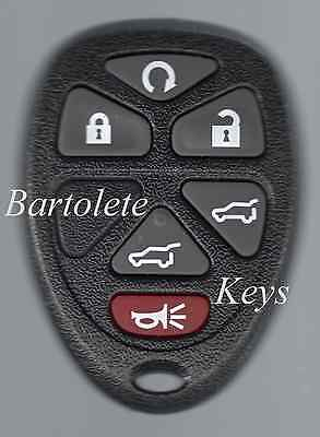 6 Buttons Keyless Entry Remote For 2007 2008 2009 Chevrolet Suburban