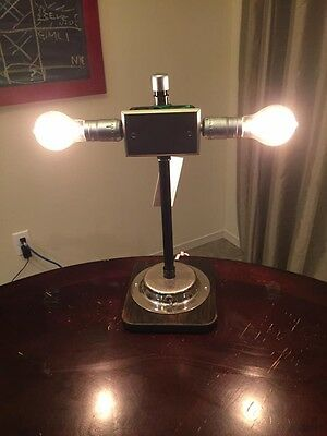Industrial Art Deco Steampunk Table Lamp