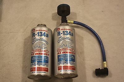 R-134a Refrigerant 18oz ReChill Kit With Sub-zero Synthetic A/C Booster