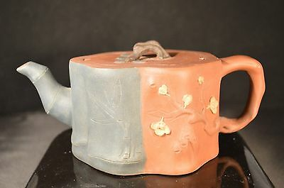 1960 to 1970's  Antique Chinese Yixing Zisha Teapot with artist marks