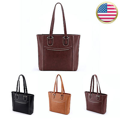 Women Leather Handbag Tote Bag Messenger Satchel Crossbody Shoulder Hobo Purse