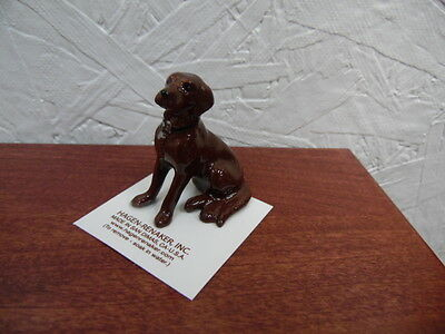 Hagen Renaker Dog Chocolate Labrador 8881 Figurine Miniature FREE SHIPPING NEW
