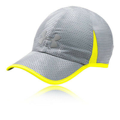 Under Armour Shadow 4.0 Mens Grey Running Training Head Wear Baseball Cap Hat